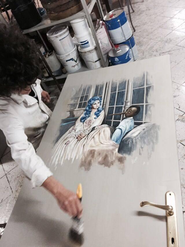 Uno staff di Artigiani e Artisti per personalizzare i MOBILI